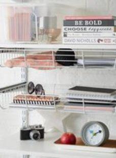 Form Twinslot Matt white Shelf (L)600mm (D)200mm
