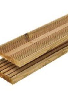 Blooma Nevou Premium UC4 Pine Deck board (L)2.4m (W)144mm (T)27mm